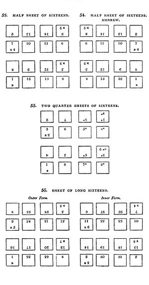 Half sheet of sixteens