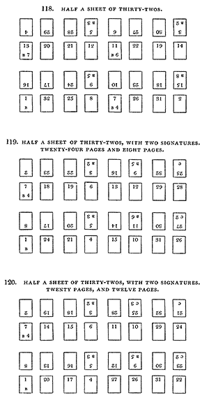 Half a sheet of thirty-twos
