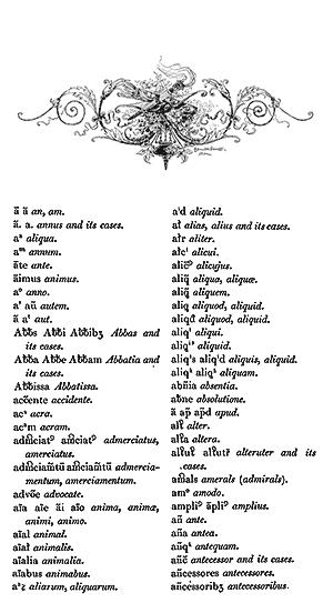 An, Am - Antecessoribus