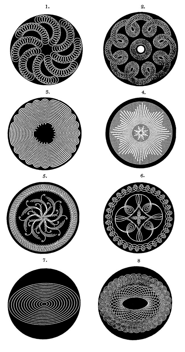 Rose Patterns 1 - 8