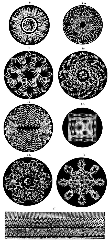 Rose Patterns 9 - 17