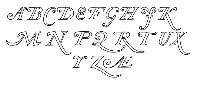 Swash Letters