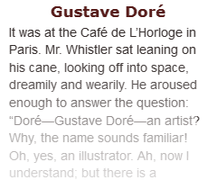 Article on Gustave Doré