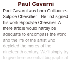 Article on Paul Gavarni