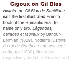 Jean Gigoux on illustrating Gil Blas