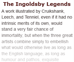 Review of The Ingoldsby Legends from the Illustrated London News