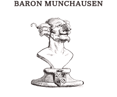Illustrations from Baron Munchausen