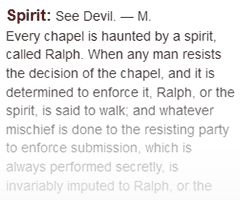 Definition of spirit in The Dictionary of the Art of Printing