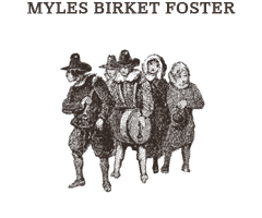 Illustrations by Myles Birket Foster