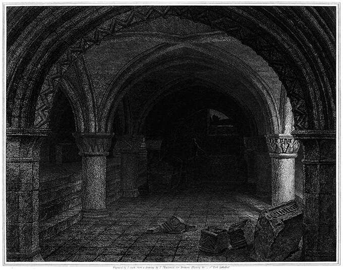 York Cathedral, Crypt under the Altar