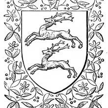 Heraldric Stags
