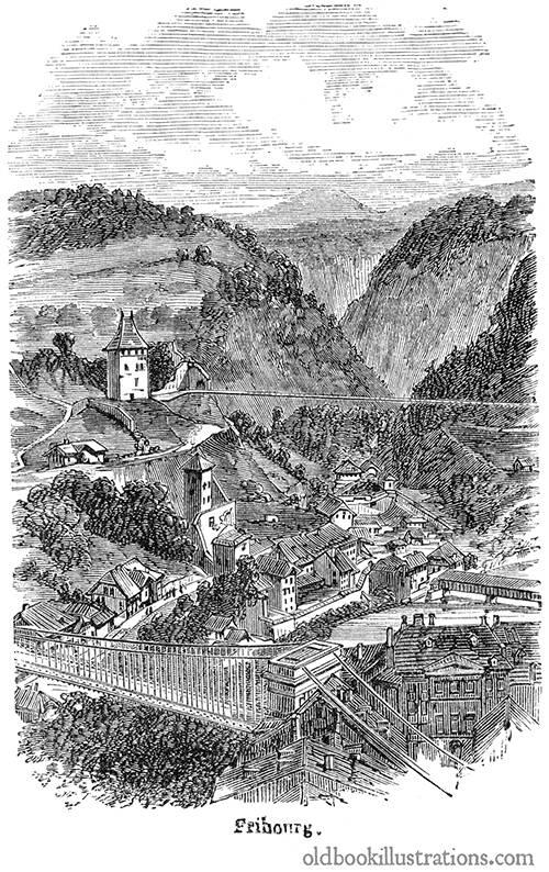 Fribourg (Freiburg im Üechtland)