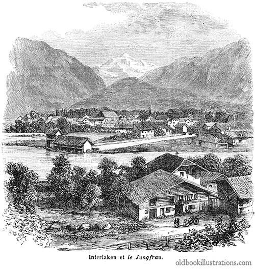 Interlaken and the Jungfrau