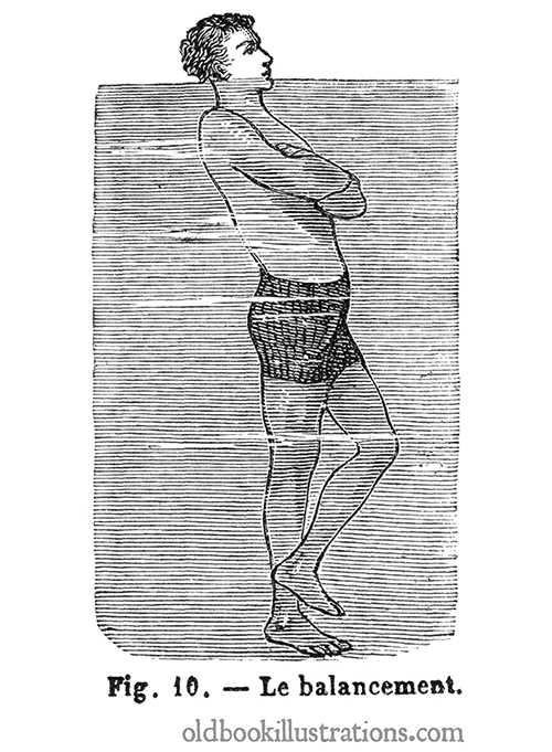 Swimming Upright