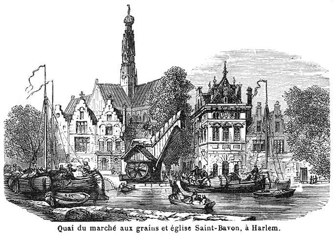 Grote Markt Wharf, Haarlem