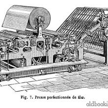 Hoe web perfecting press