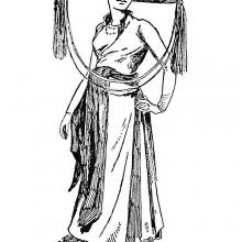 Young Indochinese Woman