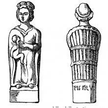 Gallo-roman statuette of Juno Lucina (1)