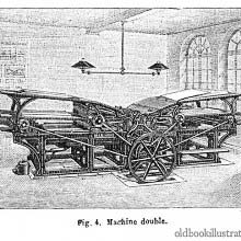 Marinoni Printing Press with Two Feeders