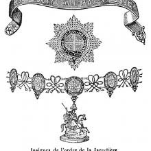 Insigna of the Order of the Garter