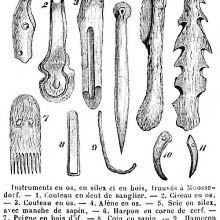 Paleolithic tools