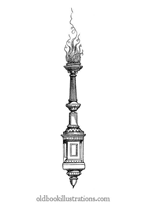 Decorative torch