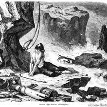 The wreck of the Dunbar