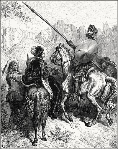 Illustration by G. Doré for Don Quixote