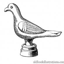 Gallo-Roman Statuette of a Dove