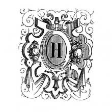 Initial Letter, H