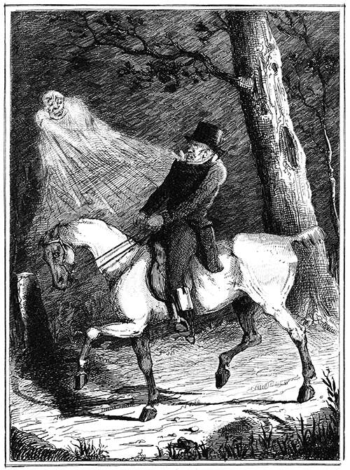 Ghost and horse