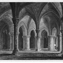 Crypt under Trinity Chapel