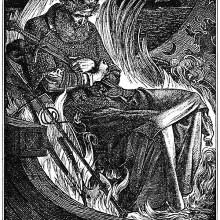 Death of King Warwulf