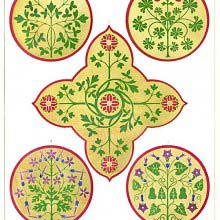 Floriated Ornaments Plate 25