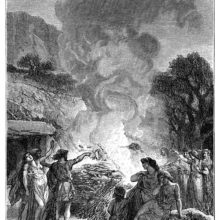 Funeral ceremonies during the Iron Epoch