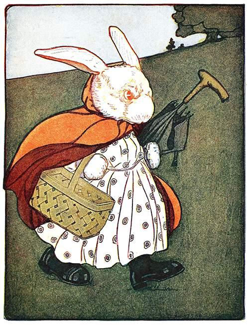 Mrs. Rabbit to the Baker's
