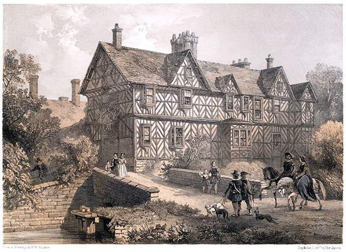 Pitchford Hall, Shropshire