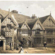 Speke Hall, the garden front, Lancashire