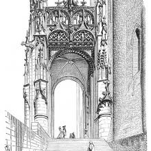 South gate of Albi Cathedral