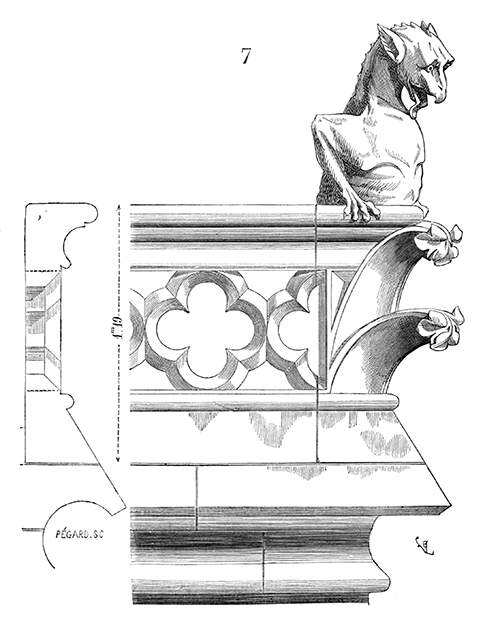 Balustrade at Notre-Dame Cathedral