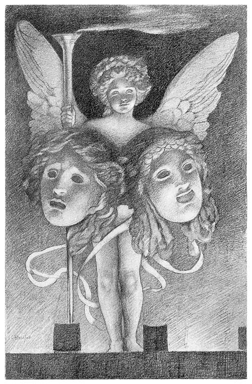 Masques of Cupid—Frontispiece