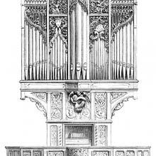 14th Century Organ from the church of Hombleux