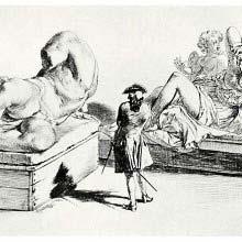 River god Ilissos and Cleopatra