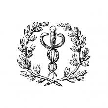 Caduceus-like symbol