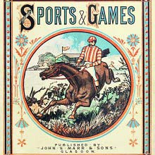 Front cover of British Sports & games