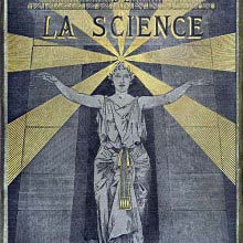 Front cover from Les mystères de la science