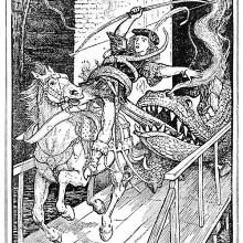 How the dragon caught the prince