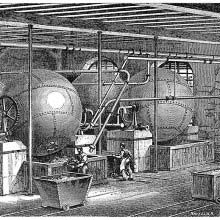 Rotary boilers