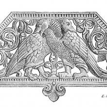 Plate with Openwork decoration showing animals and foliage