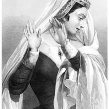 Portrait of Lady Anne, a character from the play King Richard III